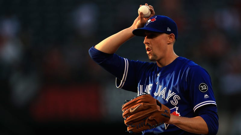 Illustration for article titled Aaron Sanchez Says He's Been Out For Two Months Because A Suitcase Hurt His Finger