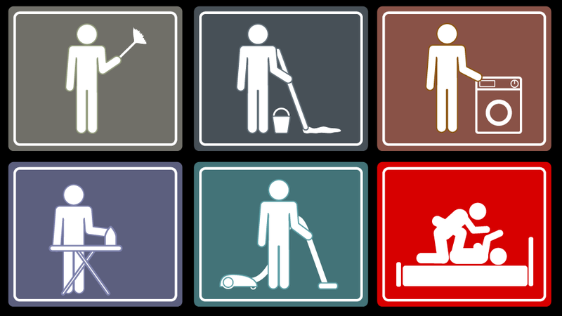 Illustration for article titled Cleanliness Is Next to Manliness: Which Chores Will Get a Guy Laid?