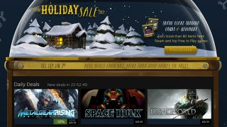 Illustration for article titled Steam's Holiday Sale Is On, Now Through January 3rd