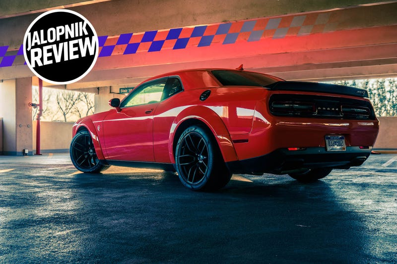 The 2018 Dodge Challenger Srt Hellcat Widebody Never Lets You Forget