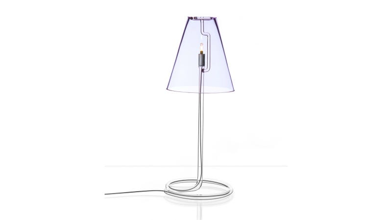 Illustration for article titled Stylish Table Lamp or Elaborate Crack Pipe?