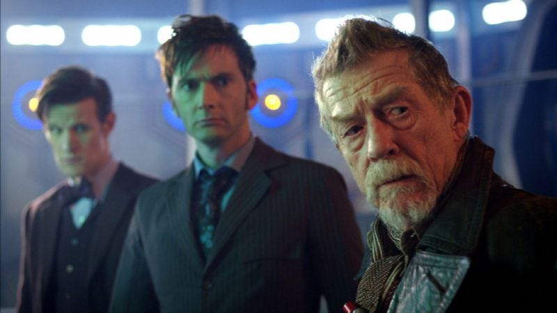 Illustration for article titled Doctor Who turns 50, and it seems to be all that's on TV this weekend