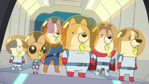 Netflix's Dogs in Space Isn't Lying About the Dogs or the Space