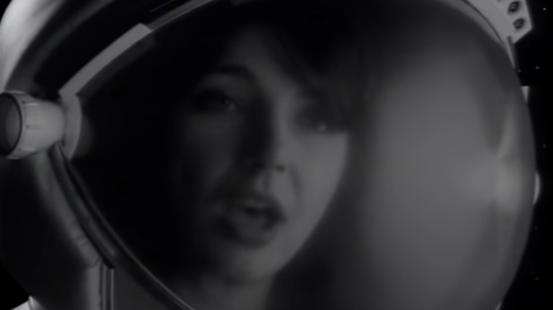 "Kate Bush strums a ukulele in space in the long-lost video for her ""Rocketman"" cover"