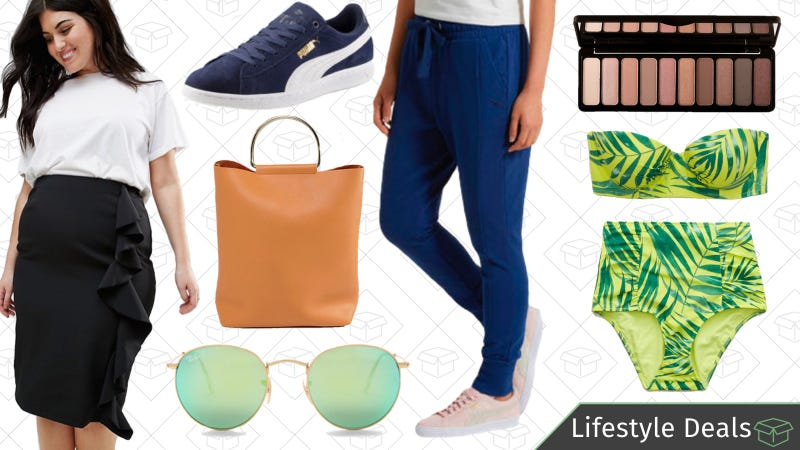 Illustration for article titled Tuesday's Best Lifestyle Deals: PUMA, e.l.f. Cosmetics, Aerie, Ray-Ban, and More