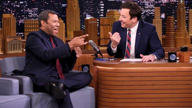 Jordan Peele, Jimmy Fallon (Photo: Andrew Lipovsky/NBC)