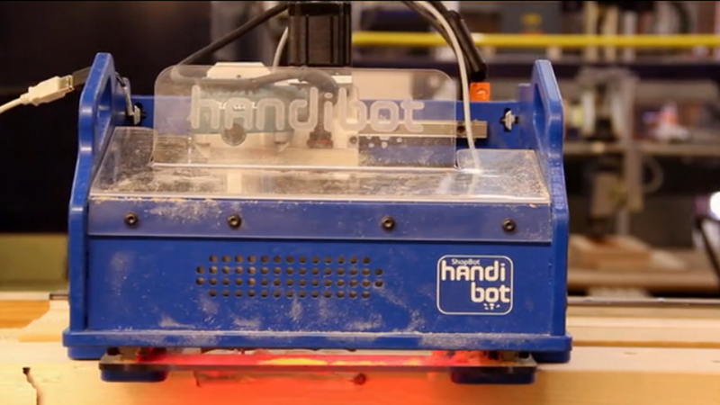 Meet Handibot, the First CNC MIll You Can Take With You