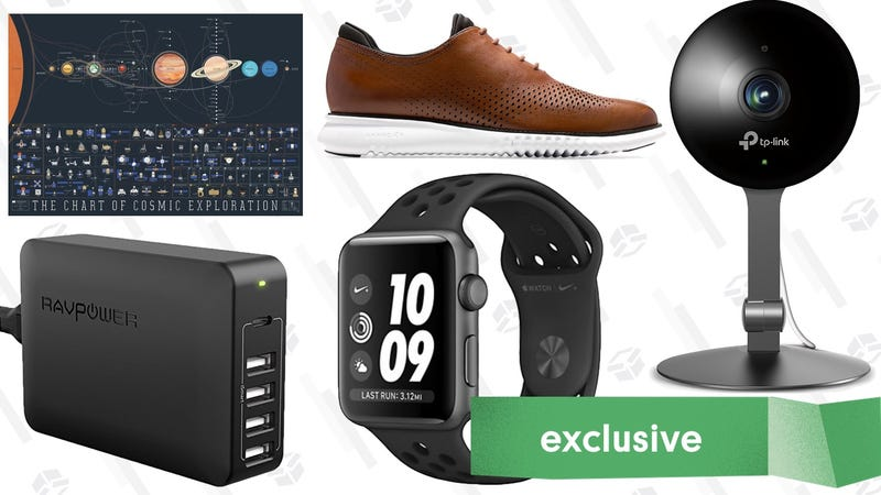 Illustration for article titled Thursday's Best Deals: Early Labor Day Sales, USB-C Chargers, Pop Chart Posters, and More