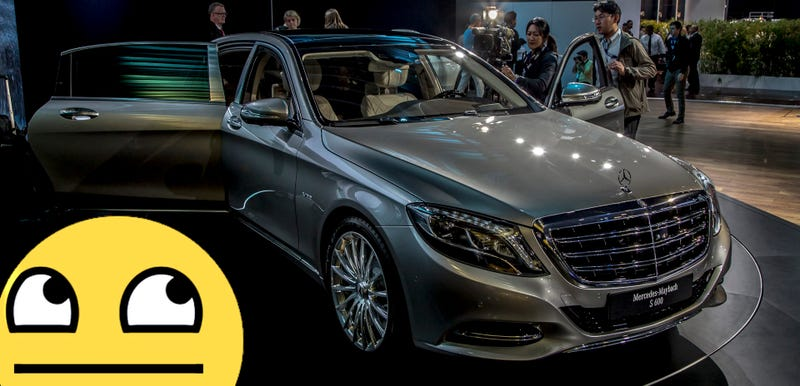 Illustration for article titled Here's Why The Mercedes-Maybach S600 Isn't As Impressive As You Think