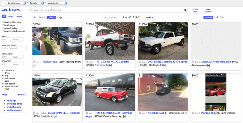 Craigslist Seattle Cars By Owner >> The Ten Best Places In America To Buy A Car Off Craigslist