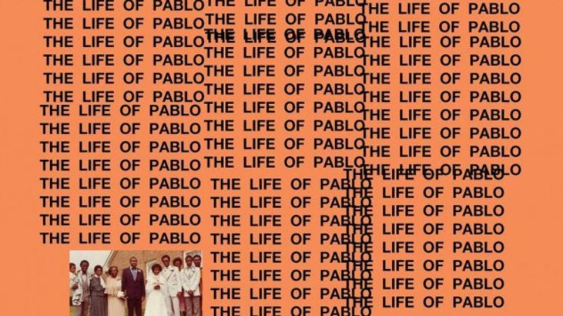 Illustration for article titled The Life Of Pablo is finally free of Kanye West's endless tinkering
