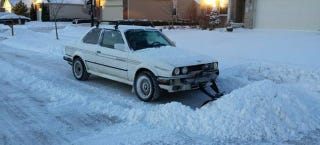Illustration for article titled Now You Can Buy A BMW E30 Snow Plow