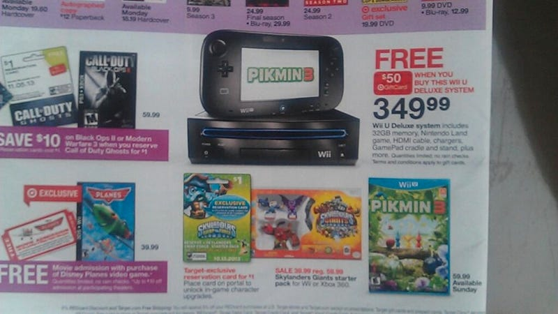 Illustration for article titled Whoops! Target Advertises Wii As Wii U