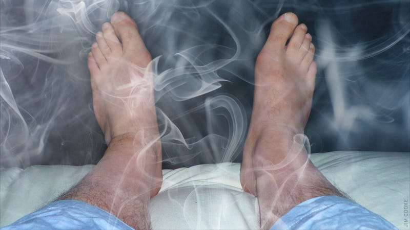 Illustration for article titled Feet In Smoke: A Story About Electrified Near-Death