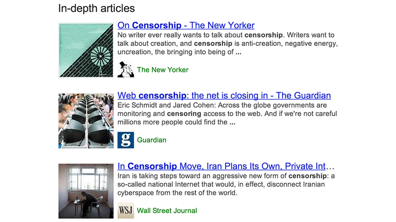 Illustration for article titled Google Will Now Show a Listing of #Longreads In Your Search Results
