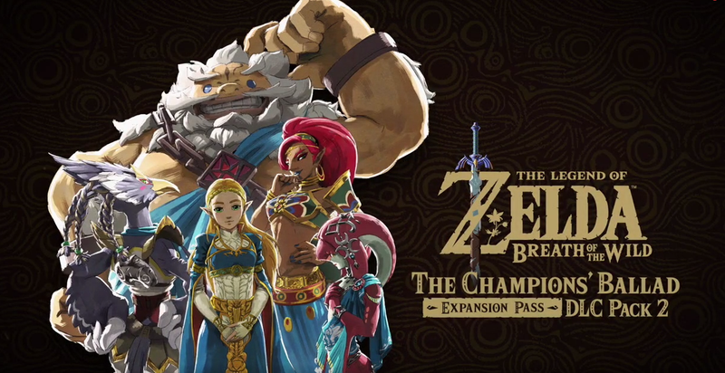 Illustration for article titled Zelda: Breath of the Wild's Second DLC Is The Champions' Ballad