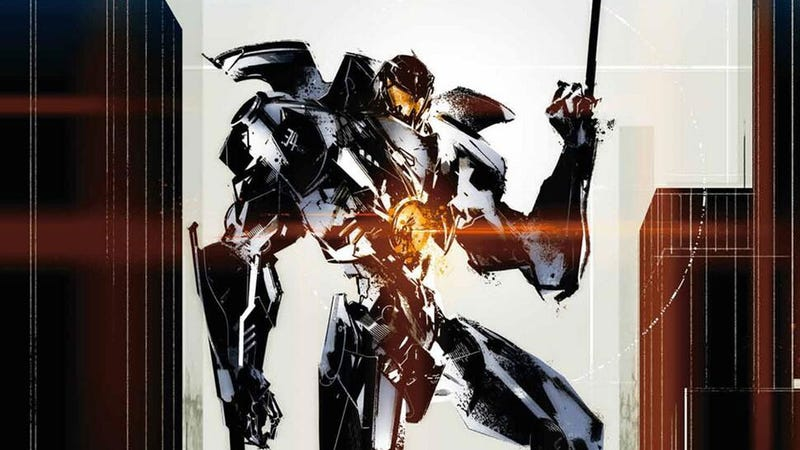 Illustration for article titled Metal Gear Artist Draws Kick-Ass Pacific Rim Poster