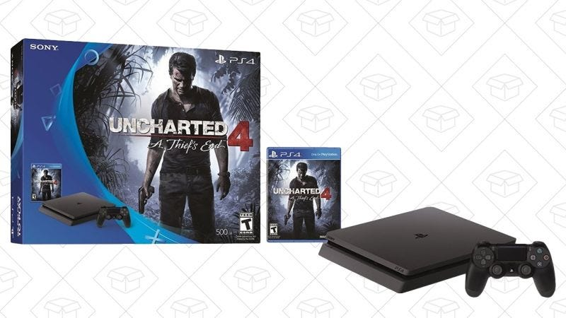 PlayStation 4 Slim Uncharted Bundle, $210