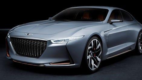 The Genesis New York Concept Imagines A Korean Hybrid Bmw Fighter