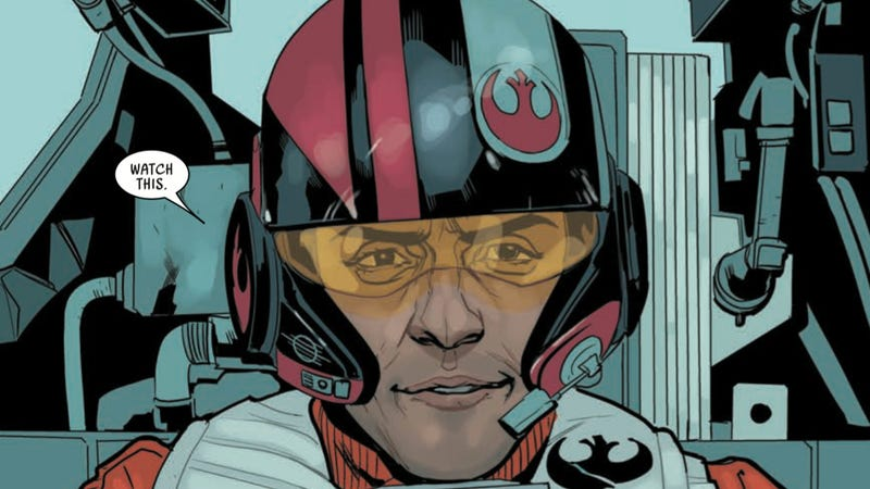 Illustration for article titled Marvel's New Poe Dameron Comic Expands The Star Wars Universe