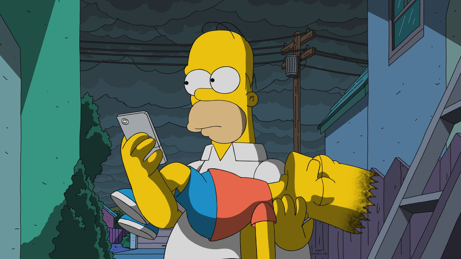 The Simpsons ends its 29th season straining for some unearned emotion