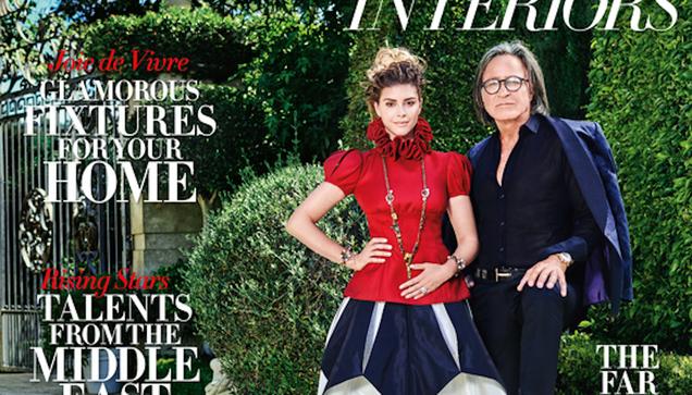 Harper s Bazaar Takes Us Inside the Mega-Mansion of Mohamed Hadid, and—Oh Boy