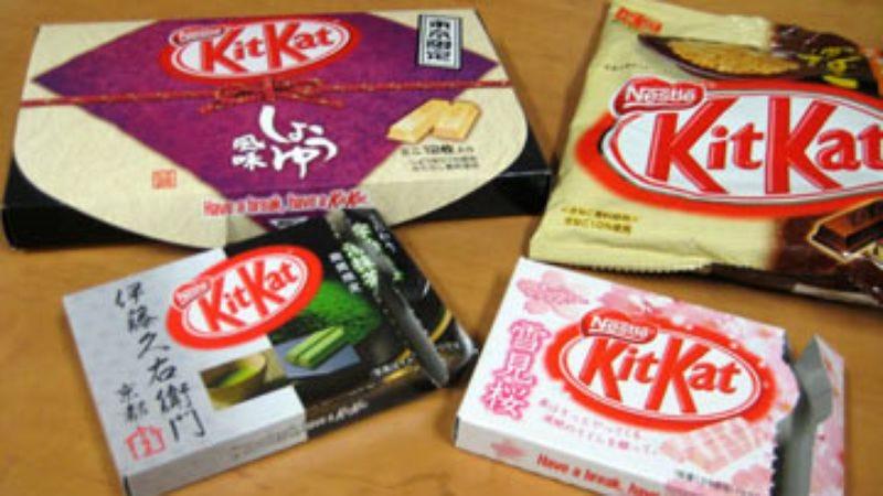 Taste Test: Japanese KitKats