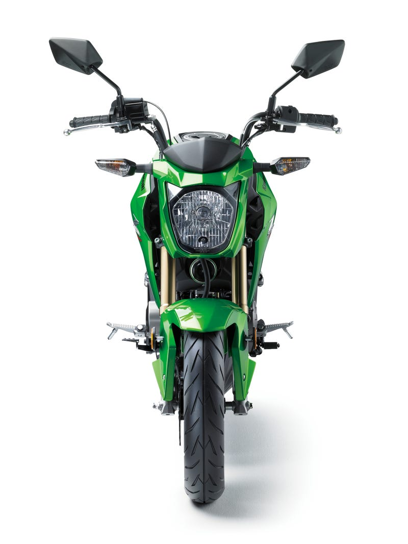 kawasaki's z125 pro grom-fighter is coming to the u.s. for $2,999