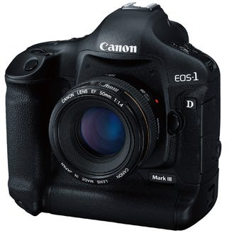 Illustration for article titled Canon EOS-1D Mark III Shoots 10 Frames Per Second