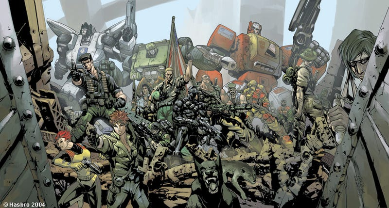 "Illustration for article titled Producer Says A GI Joe/Transformers Movie Is ""A Possibility,"" But..."