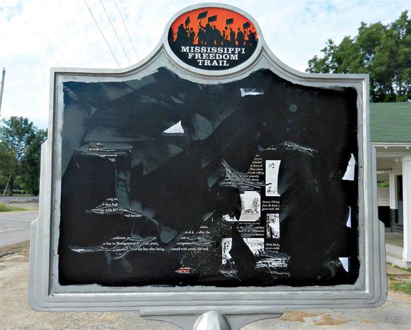 Emmett Till Memorial in Money, Miss. (AP Images)