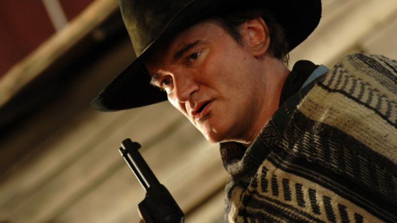 Illustration for article titled Quentin Tarantino will direct The Hateful Eight after all (on stage, anyway)