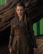 Illustration for article titled Evangeline Lilly in the Hobbit