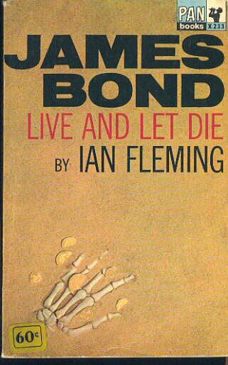 Illustration for article titled Box Of Paperbacks Book Club: Live And Let Die by Ian Fleming (1954)