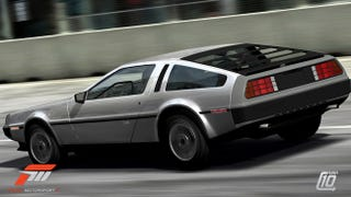 Illustration for article titled Jalopnik Car Pack Brings DeLorean, El Camino To Forza Motorsport 3