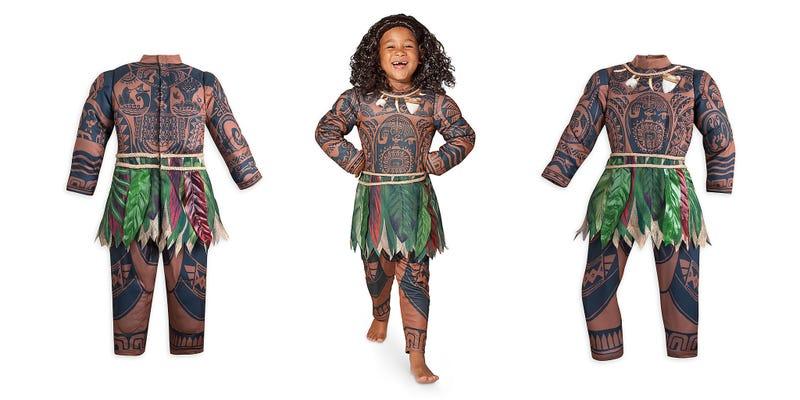 The Moana Halloween costumeDisney