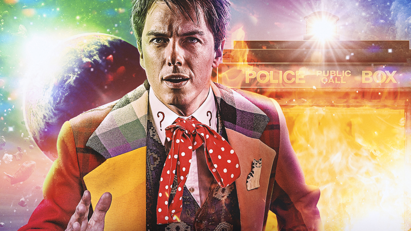 Jack Harkness, famous Time Lord. Wait, what?