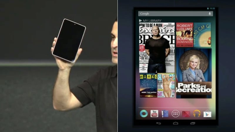 Illustration for article titled The Google Nexus Tablet Is Here, and It's Out to Kill the Kindle Fire (Updated)