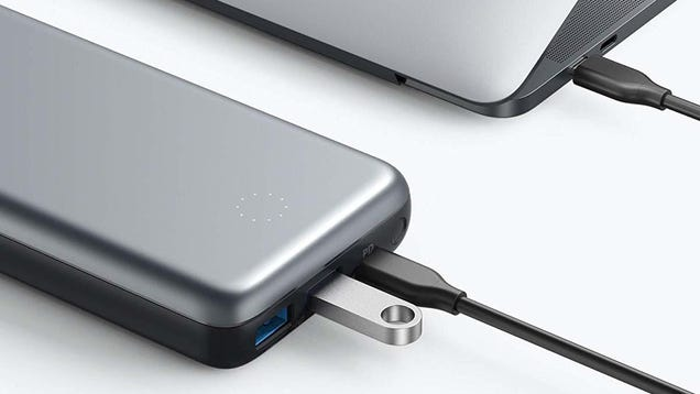 Anker s New USB-C Battery Pack Doubles As a Dongle - Get It For $30 Off