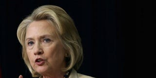 Former Secretary of State Hillary Clinton (Alex Wong/Getty Images)