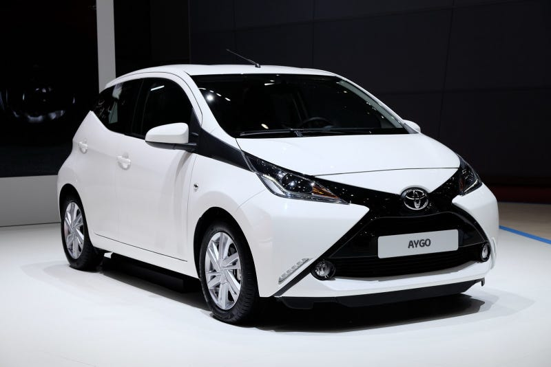 Illustration for article titled Great news, Toyota could sell the Aygo in America