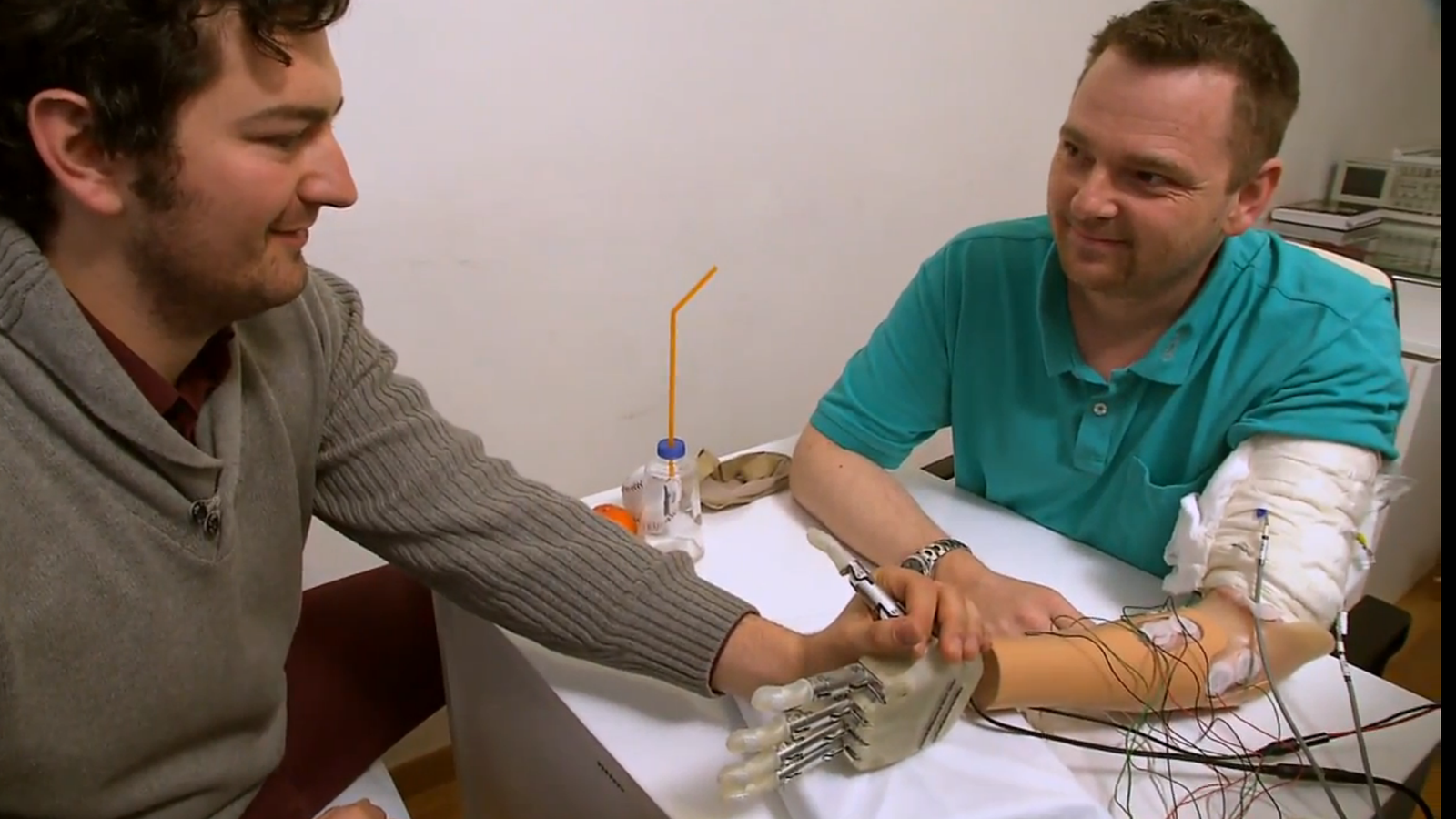 This Incredible Star Wars-Style Bionic Hand Let an Amputee Feel Again