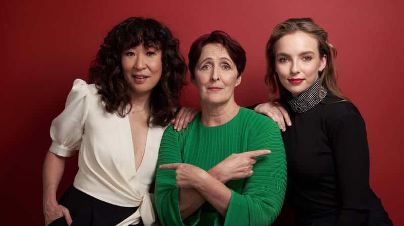 Killing Eve stars Sandra Oh, Fiona Shaw, and Jodie Comer
