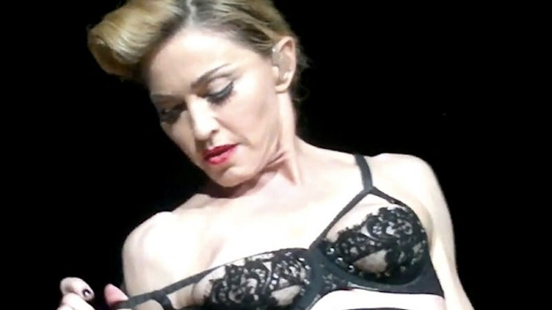 Illustration for article titled Madonna's Nipple Was Actually Protesting Proposed Turkish Abortion Ban