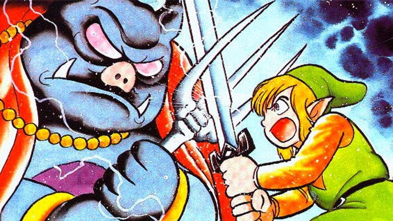 Illustration for article titled The Link To The Past comic has the ending the game deserved