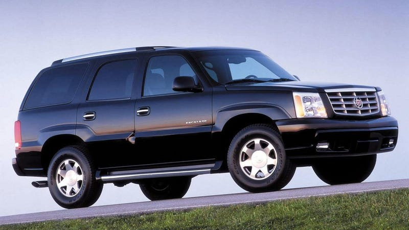 Illustration for article titled It's Time To Confess My Irrational Love For The 2002 Cadillac Escalade
