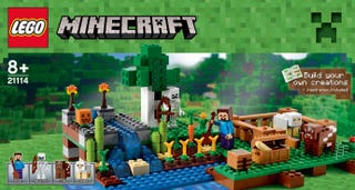 Illustration for article titled Photos of new Lego Minecraft sets leaked