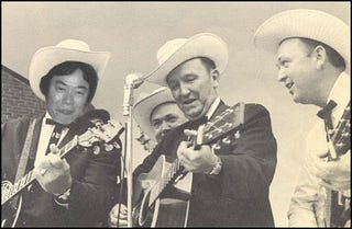 Illustration for article titled Miyamoto In A Bluegrass Band, Jams In Fields