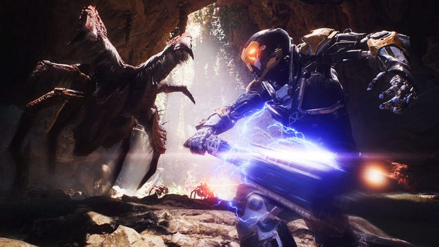 BioWare Says It's Giving Up On Anthem
