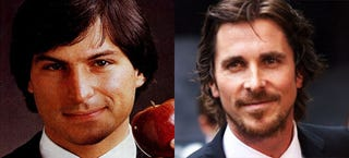 Illustration for article titled Christian Bale podría haber renunciado a interpretar a Steve Jobs